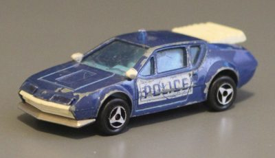 Alpine Renault A310 police