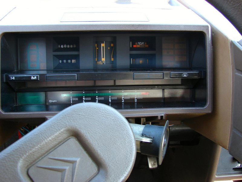 Original Citroen BX (not digital)