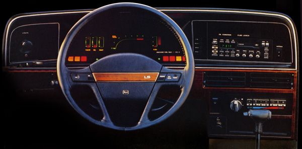 Photo of brochure for Ford Thunderbird (1989-1993)